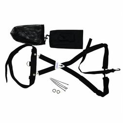 Fully Adjustable Metal Detector Swing Bungee Support Harness