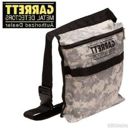 Garrett Camo Metal Detecting Canvas Finds Recovery Bag Pouch