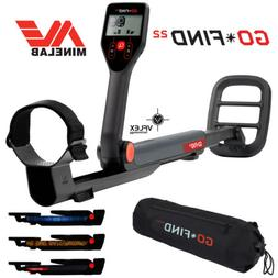Minelab GO-FIND 22 Metal Detector with GO-FIND Black Carry B