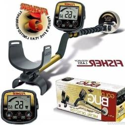 """Fisher Gold Bug Metal Detector w/ 5"""" DD Double-D Search Coil"""