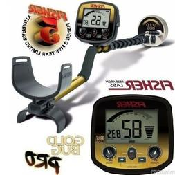 """Fisher Gold Bug PRO Metal Detector w/ 5"""" DD Double-D Search"""