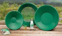 """Garrett Gold Panning Kit - 14"""" Pan Design, for gold panning"""