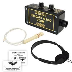 Falcon Gold Tracker MD20 Metal Detector 300kHz Probe with He