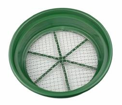 "SE GP2-12 Patented Stackable 13-1/4"" Sifting Pan, Mesh Size"