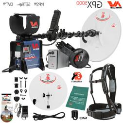 Minelab GPX 5000 Gold Detector Bundle with 2 Search Coils an
