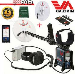 MINELAB GPX 5000 GOLD PROSPECTING Metal Detector + 2 SEARCH
