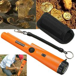 pro handheld metal detector pinpointer belt holster