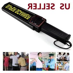 Handheld Metal Detector Portable Security Super Scanner Wand