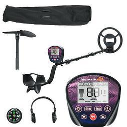 High Accuracy Metal Detector Adjustable w/ Waterproof Search