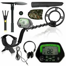 High Accuracy Metal Detector Kit W/Display Waterproof Search