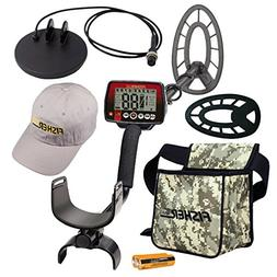 Fisher F44 Holiday Metal Detector Package with Free Accessor