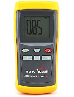 Digital K-type Thermocouple Thermometer with 1 Sensor Wire P