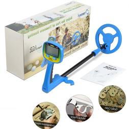 Kids Metal Detector Beach Junior Sand Gold Digger Education
