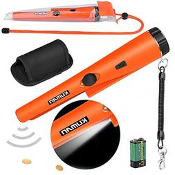 kuman Pin Pointer Metal Detector Kit with Multifunctional PV