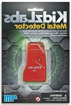 3817 kidzlabs metal detector toy