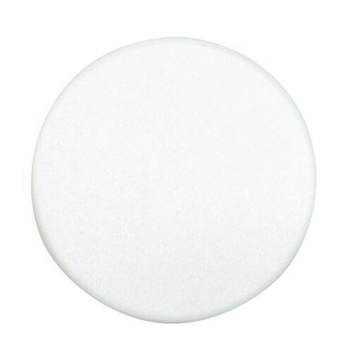 """Tesoro 7"""" Closed White Metal Detector Search Coil Cover SCUF"""