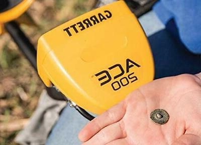 ACE Metal Detector with and Treasure