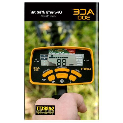 ace 300 metal detector owner s manual