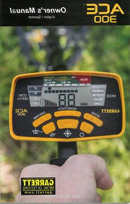 Garrett ACE 300 Detector With + MORE !