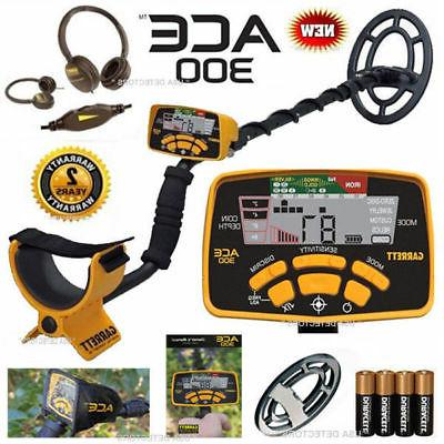 ace 300 metal detector with free headphones