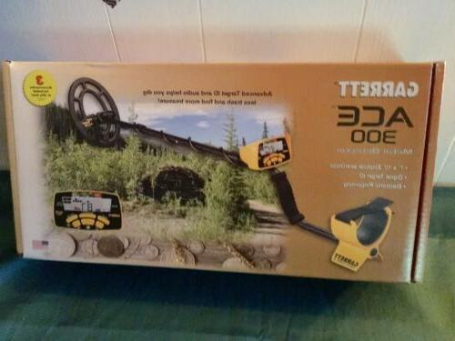 ace 300 metal detector with waterproof search