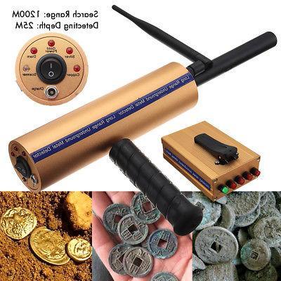 AKS Handhold Antenna Professional Metal/Gold Long Range Finder