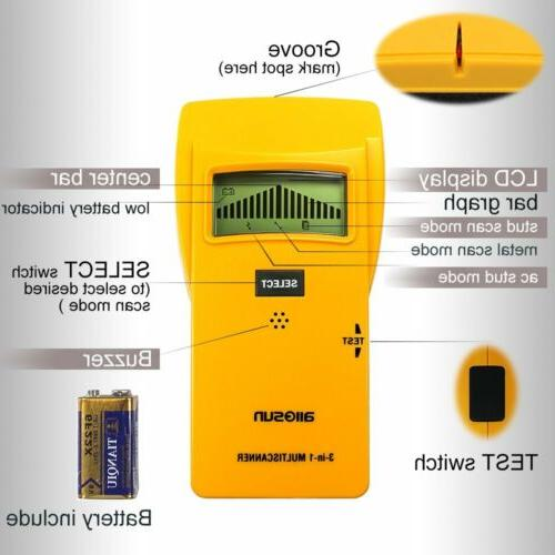 all-sun Finder Metal Detector AC Yellow