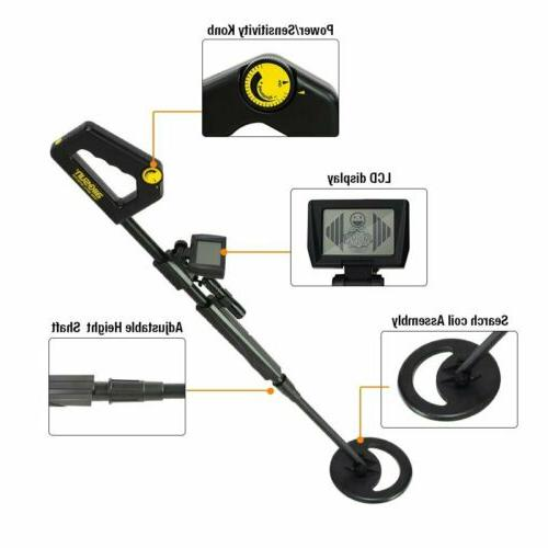 allsun TS20B Detector Waterproof Black Kids Medal Detector