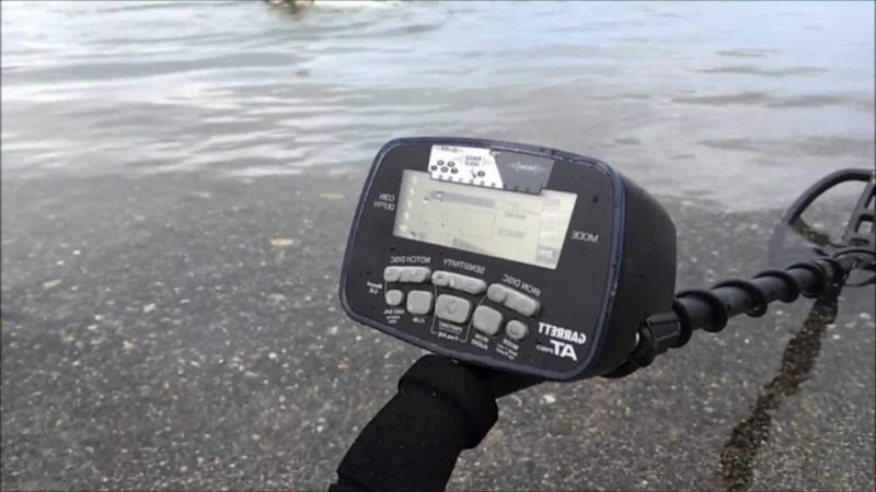 Garrett AT Detector Underwater