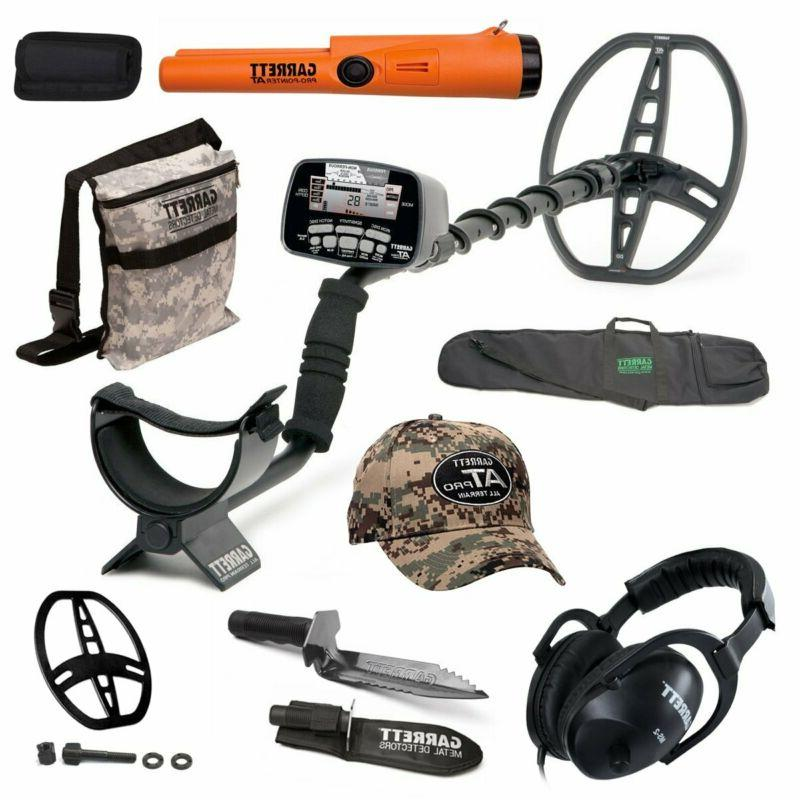 at pro submersible metal detector package