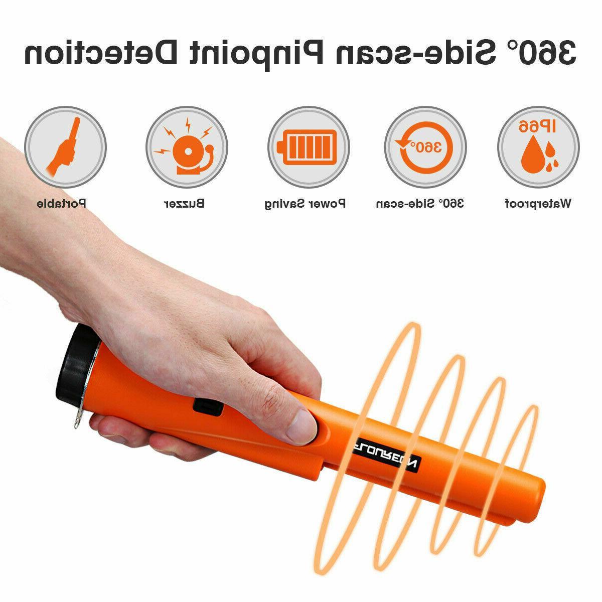 Automatic Metal Detector Pinpointer Gold Digger Sensitive Tester Waterproof