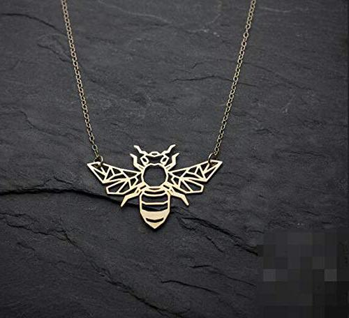 Bee Necklace Necklace Jewelry. -