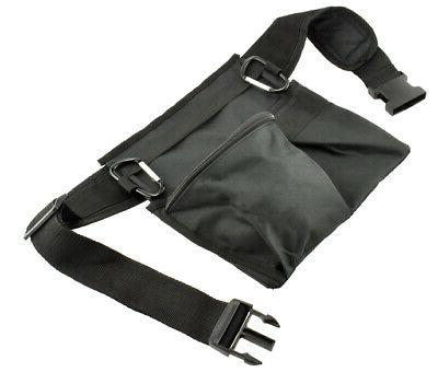 Black Metal Detector 3 Pocket & Pouch