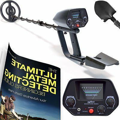 classic metal detector with pinpointer