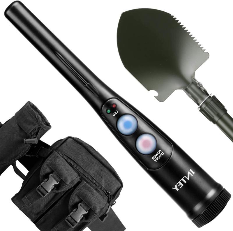 INTEY Customized Metal Detector Pinpointer Kit  360°Scannin