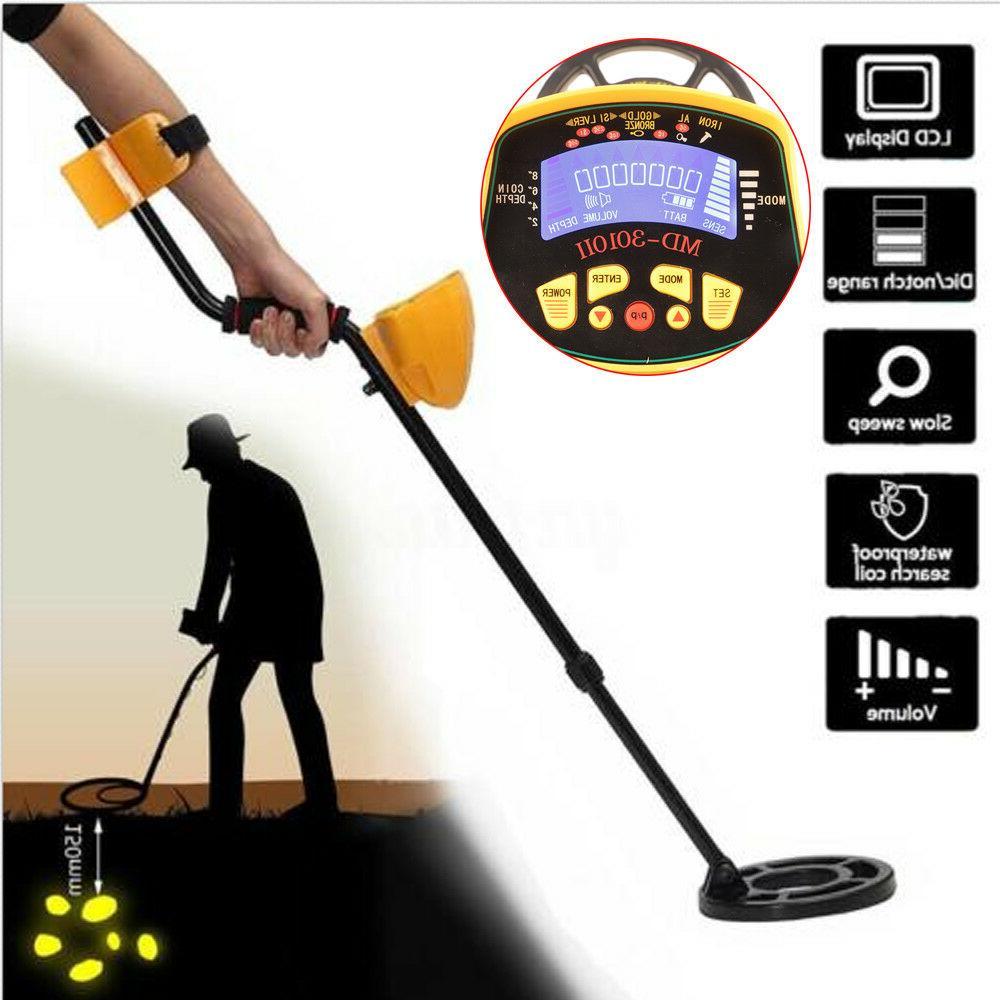 deep ground sensitive waterproof metal detector md3010ii
