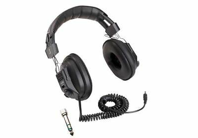 METAL DETECTOR HEADPHONES  DUAL VOLUME CONTROL - USE WITH WH