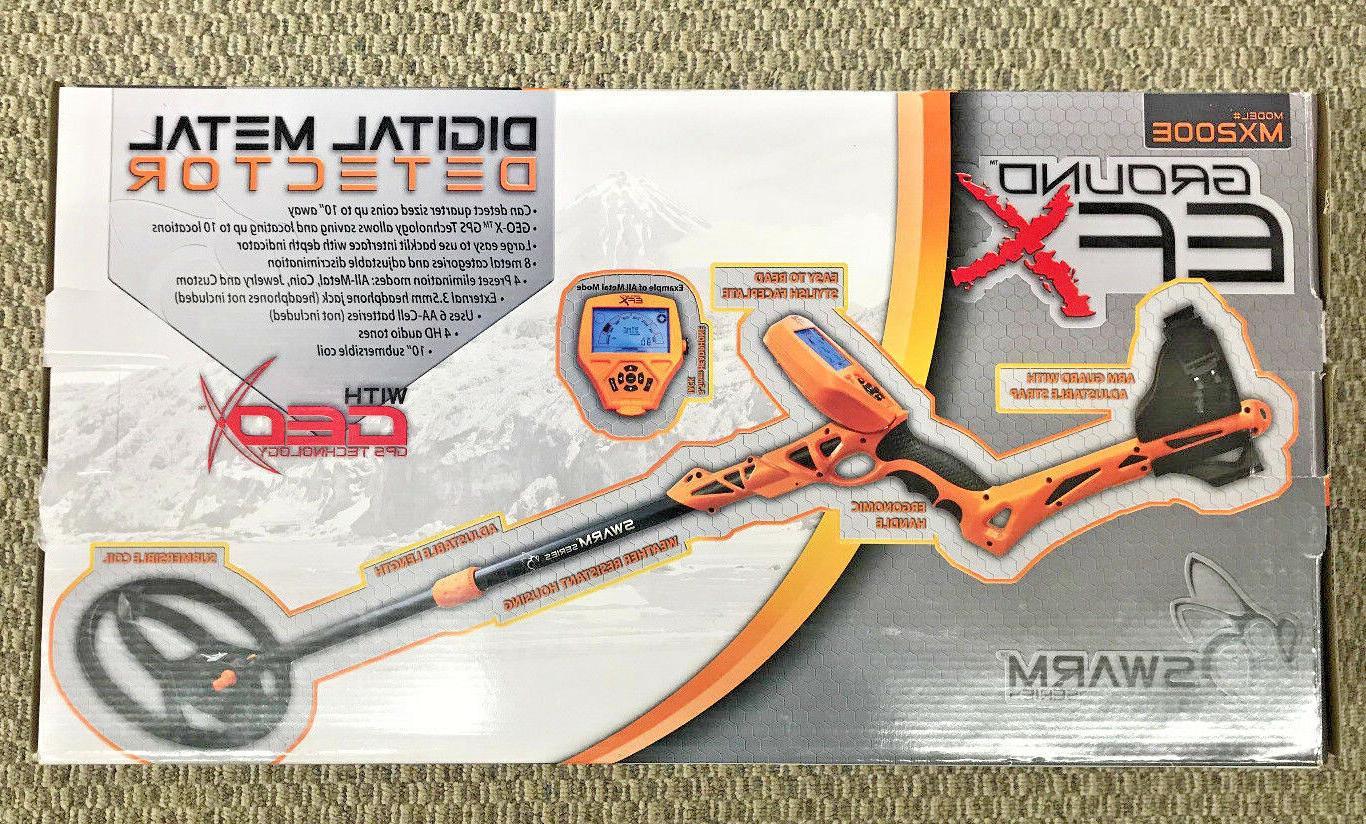 digital metal detector mx200e swarm series