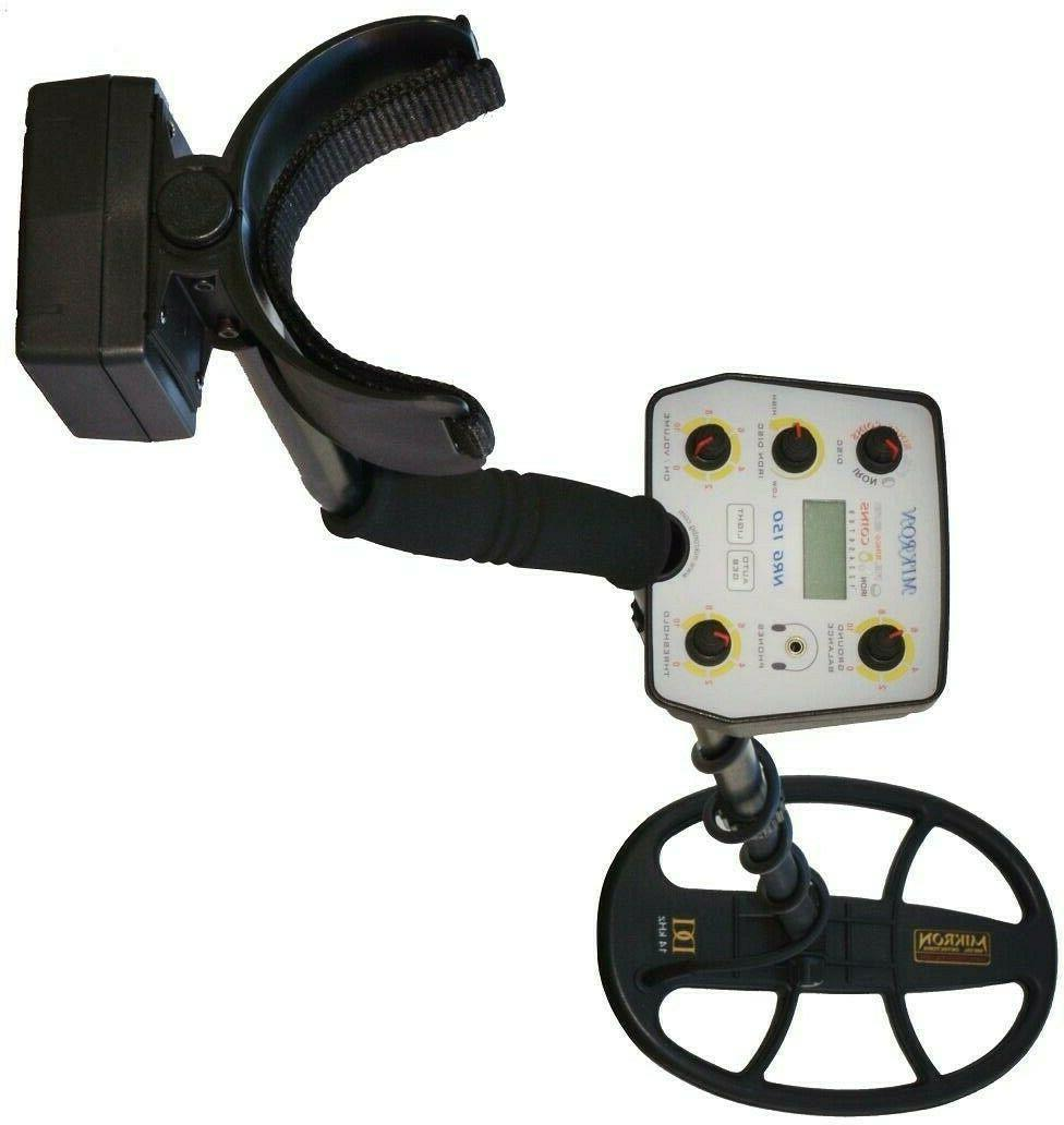 GIFT PACK DEEPEST MIKRON NRG-150 Metal Detector, Coil
