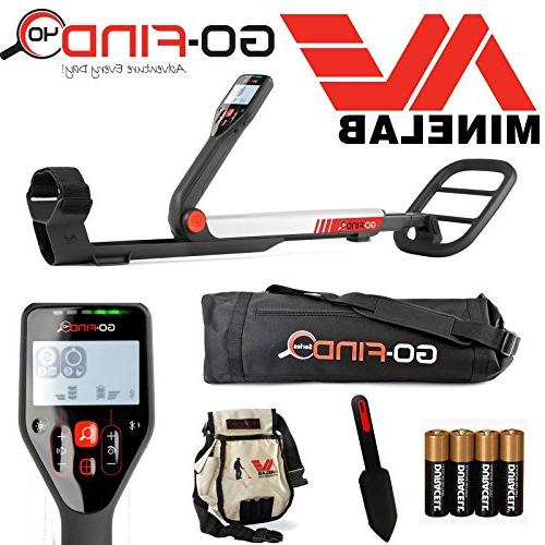 Minelab GO-FIND Detector with Bag, Digging Trowel, and Batteries