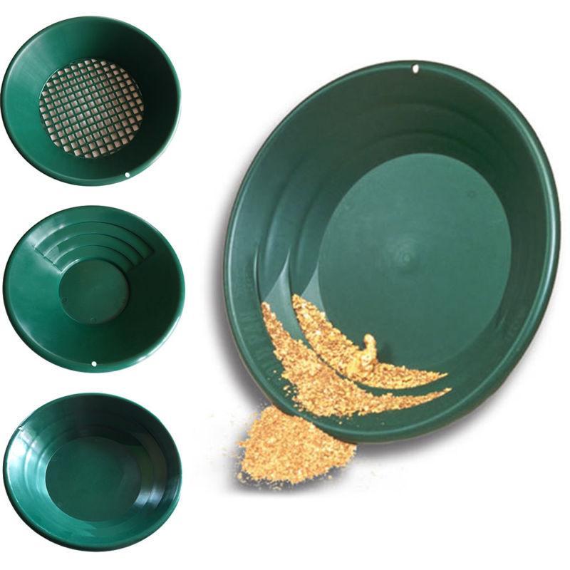 Gold Rush Sifting Mining Classifier Screen Sieve Pan 14/15 I