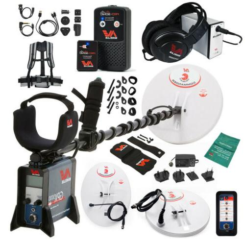 Minelab GPX 5000 Metal Detector Special with PRO-SONIC Wirel