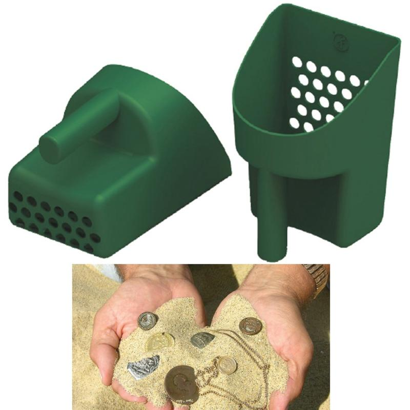 Green Sand Scoop Prospecting Metal Detector Beach-Sand-Gold-
