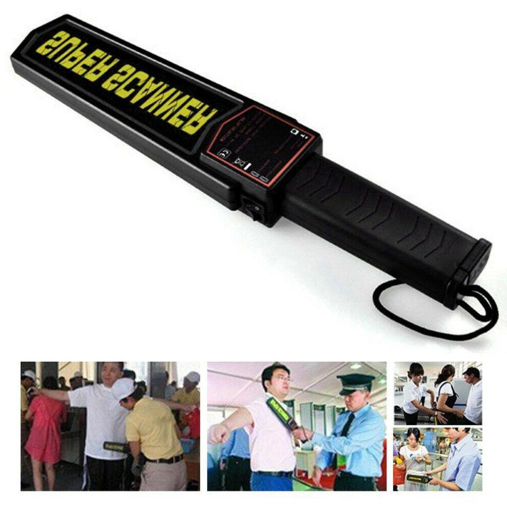 handheld metal detector portable security super scanner