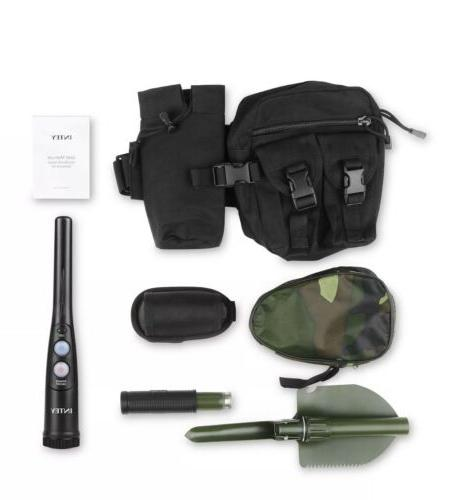 INTEY Handheld Metal Detector with Folding Shovel and Carry