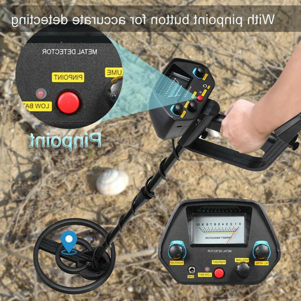 Waterproof LCD Metal Detector Gold Digger Deep Sensitive Hun