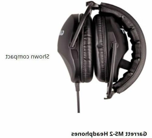 Garrett Sound MS-2 Headphones for Ace 150, 250, 350, GTI 2500