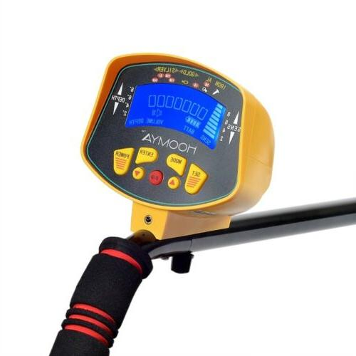 MD-3010II Metal Detector Digger Hunter Deep Sensitive Search LCD