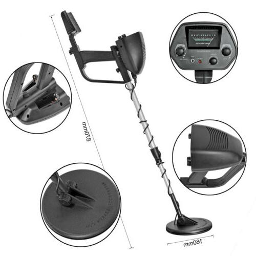 MD-4030 Metal Detector Pro Edition Hobby Waterproof Search 6.5""