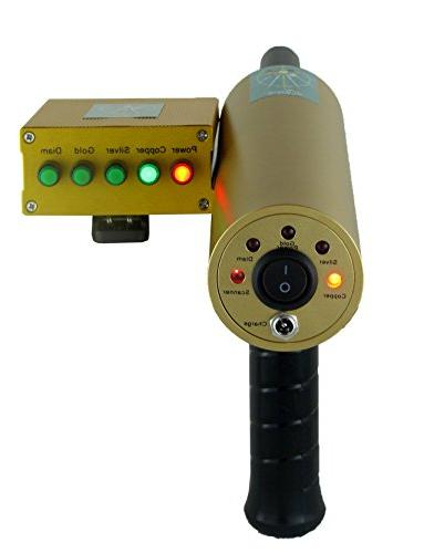 AKS metal detector 3D gold detector machine long